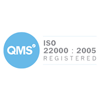 We Are ISO 22000 Registered