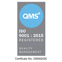 We are ISO 9001 Registered